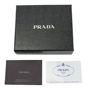 Prada Bags - Prada Saffiano Leather Dual Colors Bifold Wallet